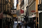 Europe - Sweden - Gamla Stan, narrow streets of the Old Town
