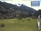 Gastein city and the golfcourse