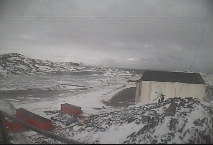 Airport on the Antarctica island, Chile