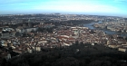 Prague, panorama view from Petrin tower