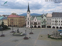 Trutnov, city center