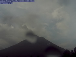 Turrialba Volcano