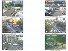 Madrid traffic cameras matrix
