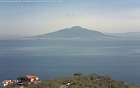 Vesuvius volcano view from Sorrento