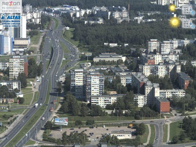 Dettagli webcam Vilnius