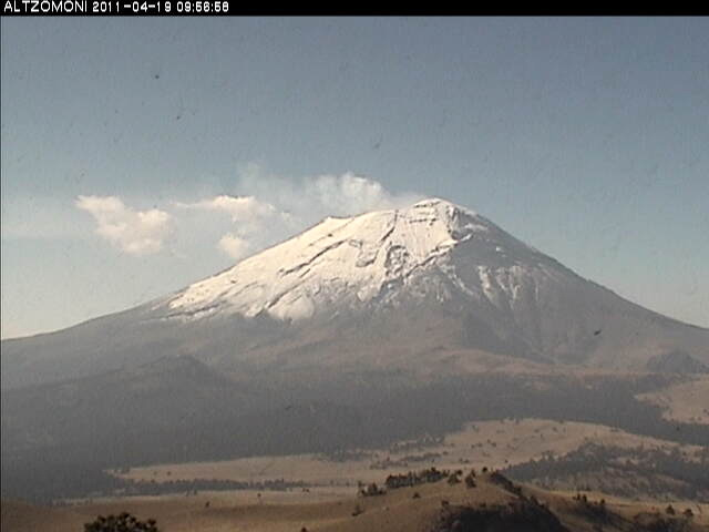 Popocatepetl – sopka, Mexiko