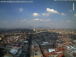 Mexico City, Latin American Tower, pohled na sever