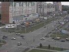Omsk, Maslennikova and Zhukova street crossing