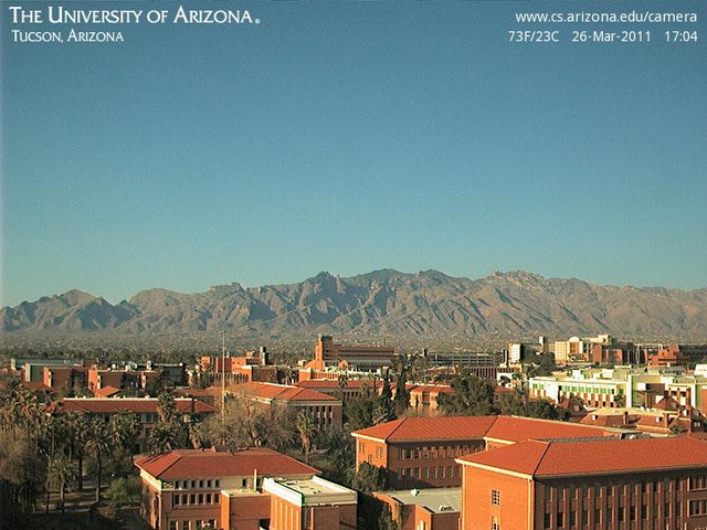 Tucson, University of Arizona