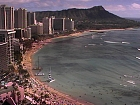Honolulu, Oahu Island, Waikiki beach