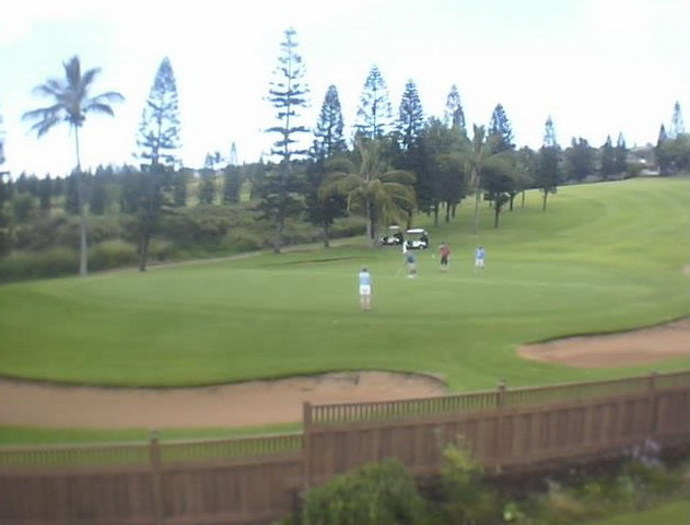 Maui Island, Pukalani Country Club Golf Course 6th hole