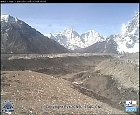 Oblast Mt.Everest, ledovec Khumbu