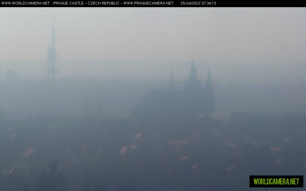 webcam Prague Castle View