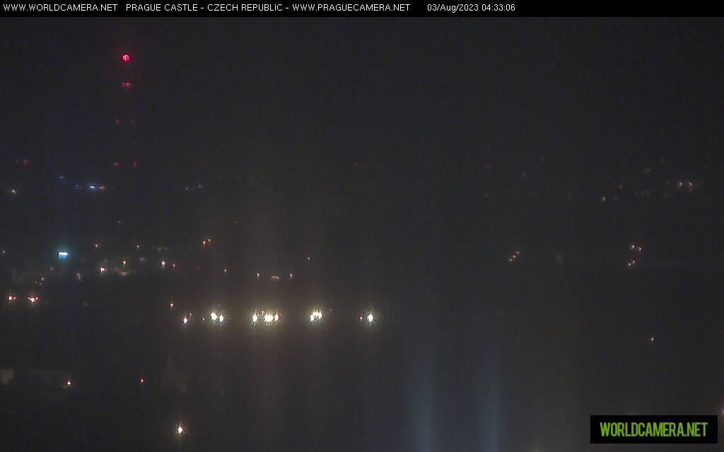 Pohled na Pražský hrad