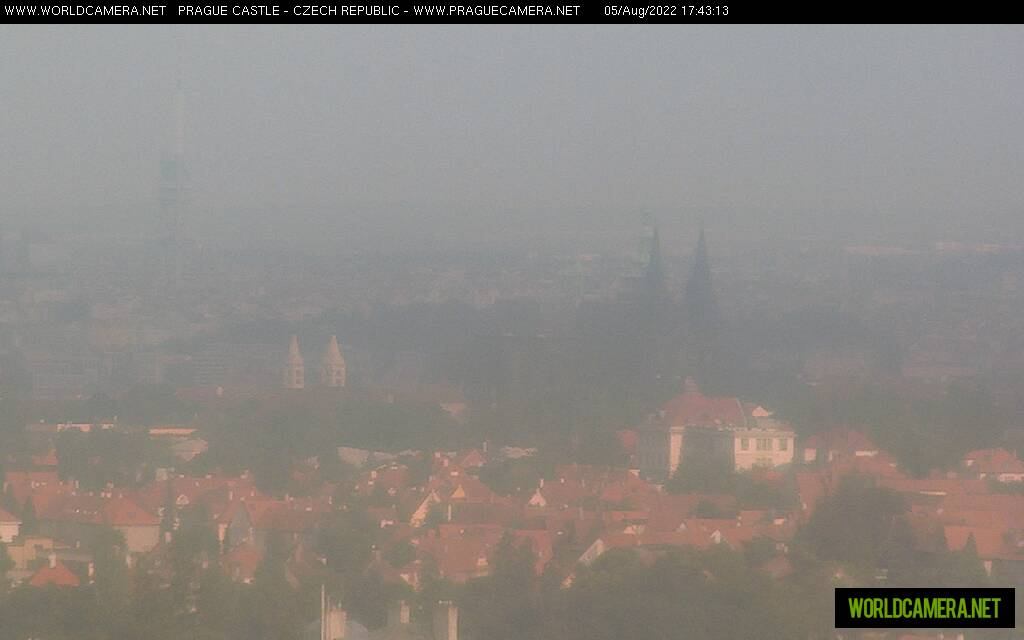 Webcam Praga vista Castillo