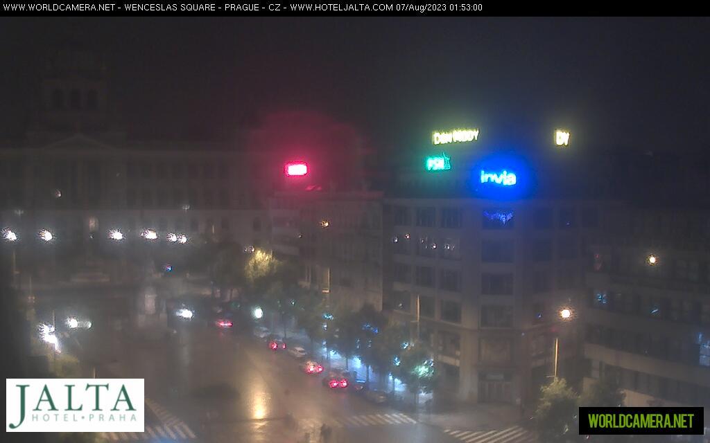 Webkamera Václavské náměstí v Praze